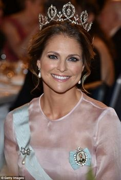 Princess Madeleine of Sweden at the Nobel Prize Ceremony. December 10 2016