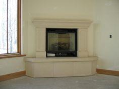 stone+corner+fireplaces | Contemporary Corner Stone Fireplaces ...