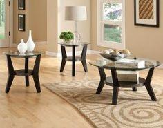 Orbit 3 Piece Table Set - master bed sitting area