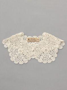 lovely crochet collar