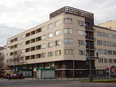 Dom Wedla, at 28 Puławska Street in Warsaw, 1936, by arch. J. Żórawski