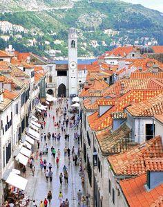 Walk on the beautiful streets of Croatia!   #travel #croatia #vacation