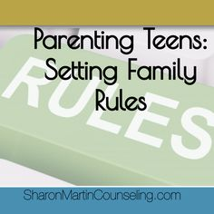 Parenting teens is tough. Teens are still learning to make good decisions. Setting family rules that are consistent and reflect your family values can help.