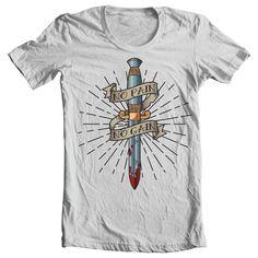 No Pain No Gain T-shirt template