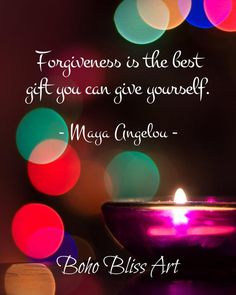 Maya Angelou Quote: Forgiveness is the best gift you can give yourself. Empowering Self-Love & Healing Art Printable Forgiveness Lesson, Forgiveness Quotes, Self Respect Quotes, Self Love Quotes, Wall Art Quotes, Quote Wall, What Is Law, Inspirational Quotes About Success, Positive Quotes