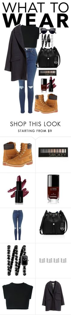 """""""today style"""" by saramoradi210 ❤ liked on Polyvore featuring Timberland, Forever 21, Chanel, MICHAEL Michael Kors, Maison Margiela, adidas Originals and H&M"""