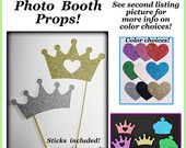 BLING Photo booth props bling bow tie bling by McDermottMagic