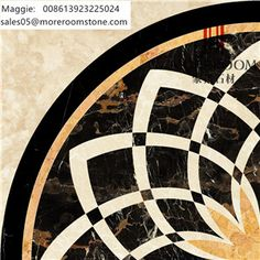 Beautiful Pattern Marble Design, Water Jet Natural Marble for Hall Design, Waterjet Medallion Natural Marble, Waterjet Marble Flooring Design, Marble For Villa, Flooring Medallion, Chinese Marble Round Water Jet Designs. Cut-to-size Natural Marble Medallion. Moreroom Stone : www.moreroomstone.com Maggie: sales05@moreroomstone.com Marble Mosaic, Marble Floor, Floor Patterns, Tile Patterns, Floor Design, Tile Design, Pattern Texture, Baroque Design, Lobby Design