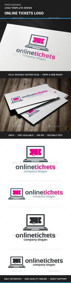 Online Tickets Logo Template