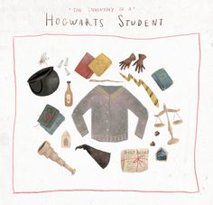 Inventory of a Hogwarts Student