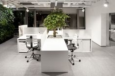 Inside Bausch & Lomb's Warsaw Offices - Office Snapshots
