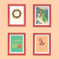 #carte #illustration #couleur #autumn #leaves #color #plantes #café #cards #snail #autumn #plants #leaves #mushroom #coffee Gallery Wall, Frame, Illustration, Home Decor, October, Plants, Autumn, Color, Picture Frame