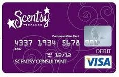 CLICK ON PICTURE 2X to be taken to my website for more information...  Check out my awesome Scentsy Visa Pay card! On the 10th of every month my commission is loaded onto my card! Click the card and JOIN MY TEAM TODAY.  Pay down bills, vacations, trips, renovations, work at home, extra cash, money, job, work  https://santorella.scentsy.us/Scentsy/Join
