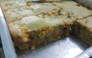 massa para torta de liquidificador simples1 Meatloaf, Lasagna, Quiche, Banana Bread, Breakfast, Cake, Ethnic Recipes, Desserts, Food