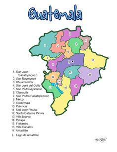 DEPARTAMENTO DE GUATEMALA (GUATEMALA) - CHILE POST™
