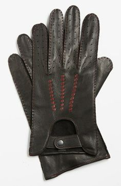 John Varvatos Star USA Deerskin Driving Gloves available at #Nordstrom