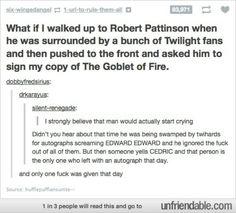 Robert pattinson is great