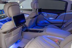 Mercedes-Maybach rear seats