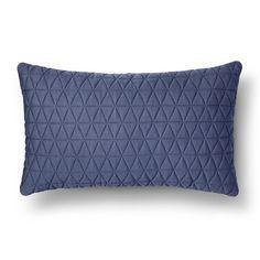 Room Essentials ™ Jersey Lumbar Throw Pillow - Blue