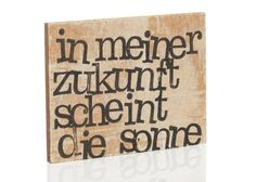 """Geschenkidee: Magnet  """"In meiner Zukunft scheint die Sonne"""" // magnet by iopla via DaWanda.com"""