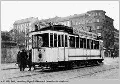 Berlin 1930 Linie 135 am Bahnhof Gesundbrunnen