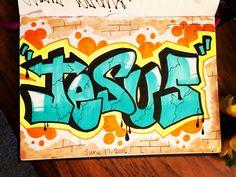 ORDER ME ON FACEBOOK @ FRESH PRINTS OF BELAIRE OR INSTAGRAM @ FRESH_PRINTS_OF_BELAIRE  Bible journal, bible journaling, bible journaling community, bible art, illustrated faith, bible verses, Jesus, God, Holy Spirit, Christian art, daily devotional, graffiti, letters, hand lettering, handwriting, graffiti font