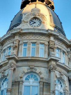 Reloj del Ayuntamiento de Cartagena.