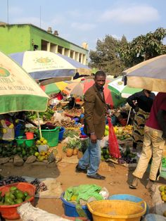 food shopping at the market, Uige, Angola