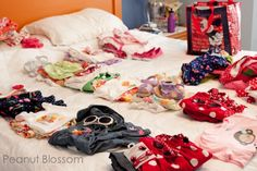 Packing tips for families   Peanut Blossom