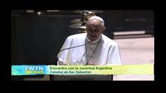 Palabras en español del Papa Francisco a Jóvenes argentinos