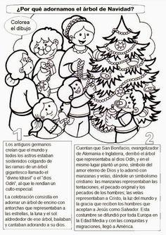El Rincón de las Melli: ¿Por qué armamos el arbolito de Navidad?