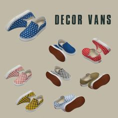 Leo Sims - Decor vans for The Sims 4