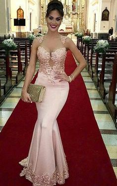 Lace Wedding Dress Empire Wedding Dress Rose Gold Mother Of The Bride Dresses Bridal Dresses Pakistani 2018 With Price Wedding Dresses For Beach Wedding Mermaid Prom Dresses Lace, Pink Prom Dresses, Prom Party Dresses, Lace Dress, Bridesmaid Dresses, Lace Mermaid, Wedding Dresses, Prom Gowns, Dress Party