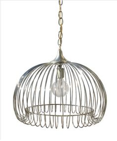 http://www.highstreetmarket.com/collections/vintage/products/1970s-chrome-ceiling-pendant  $295