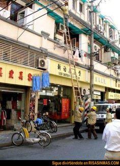 Malabarismo chino | Risa Sin Más