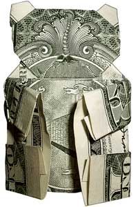 50 Spectacular Origami Designs Made From Money Folding Money, Origami Folding, Paper Folding, Origami Boxes, Oragami Money, Money Lei, Money Cake, Origami Paper Art, Paper Crafts