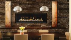Napoleon LHD50 Linear Gas Fireplace #Napoleon