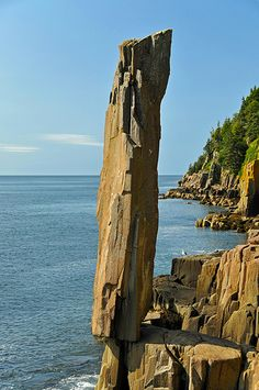 Balancing Rock by archer10 (Dennis) via Flickr - This balsalt rock is found on Long Island, Nova Scotia