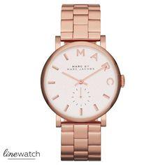 Original Marc by Marc Jacobs MBM3244 Damen Uhr Rosegold farbig *NEU&OVP* in Uhren & Schmuck, Armband- & Taschenuhren, Armbanduhren | eBay