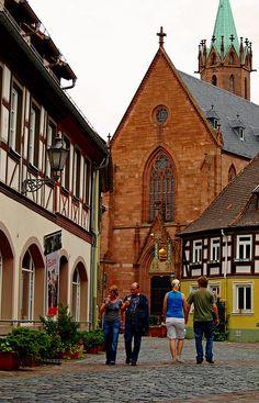 Altstadt Ladenburg, Baden Württemberg. Germany