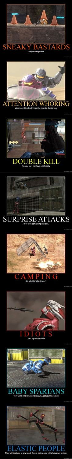 Halo Video Game Logic, Video Games Funny, Funny Games, Halo Funny, John 117, Halo Collection, Halo Game, Halo Reach, Red Vs Blue