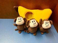 Monkey Banana Monkey And Banana, Flannel Friday, Finger Plays, Finger Puppets, Felt, Songs, Children, Animals, Board