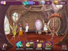 The hot fashions aren't just in the Big Apple, you'll find them in Pixie Hollow where you can run your own adorable boutique and even design your own outfits. If you love fashion or just love Disney, then you'll want to check out a new mobile app from Disney called Fairies Fashion Boutique.