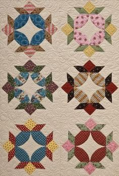 Pie and Tart Quilt! If I can ever get over my fear of curved ... : sue daley quilt patterns - Adamdwight.com