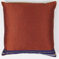 Geometric Pillow 16x16 Orng Gold now featured on Fab.