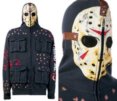 Terrifying Trend In The Jason Hoodie By Mark Ecko