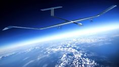 The lightweight Zephyr aircraft could be used in communications and remote sensing.