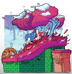 Sonic Mania, Sonic 3, Sonic Fan Art, Doctor Eggman, Doom 3, Classic Sonic, Sonic Franchise, Pixel Animation, Sonic Heroes