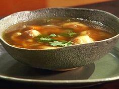 Portuguese Potato Dumpling Soup from FoodNetwork.com Potato Dumpling Soup Recipe, Dumplings For Soup, Food Network Recipes, Gourmet Recipes, Soup Recipes, Healthy Recipes, Portuguese Potatoes, Emeril Lagasse Recipes, Mango Sauce