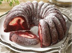 "Red Velvet Fusion Cake - Cream Cheese Filled ""YUM!"""